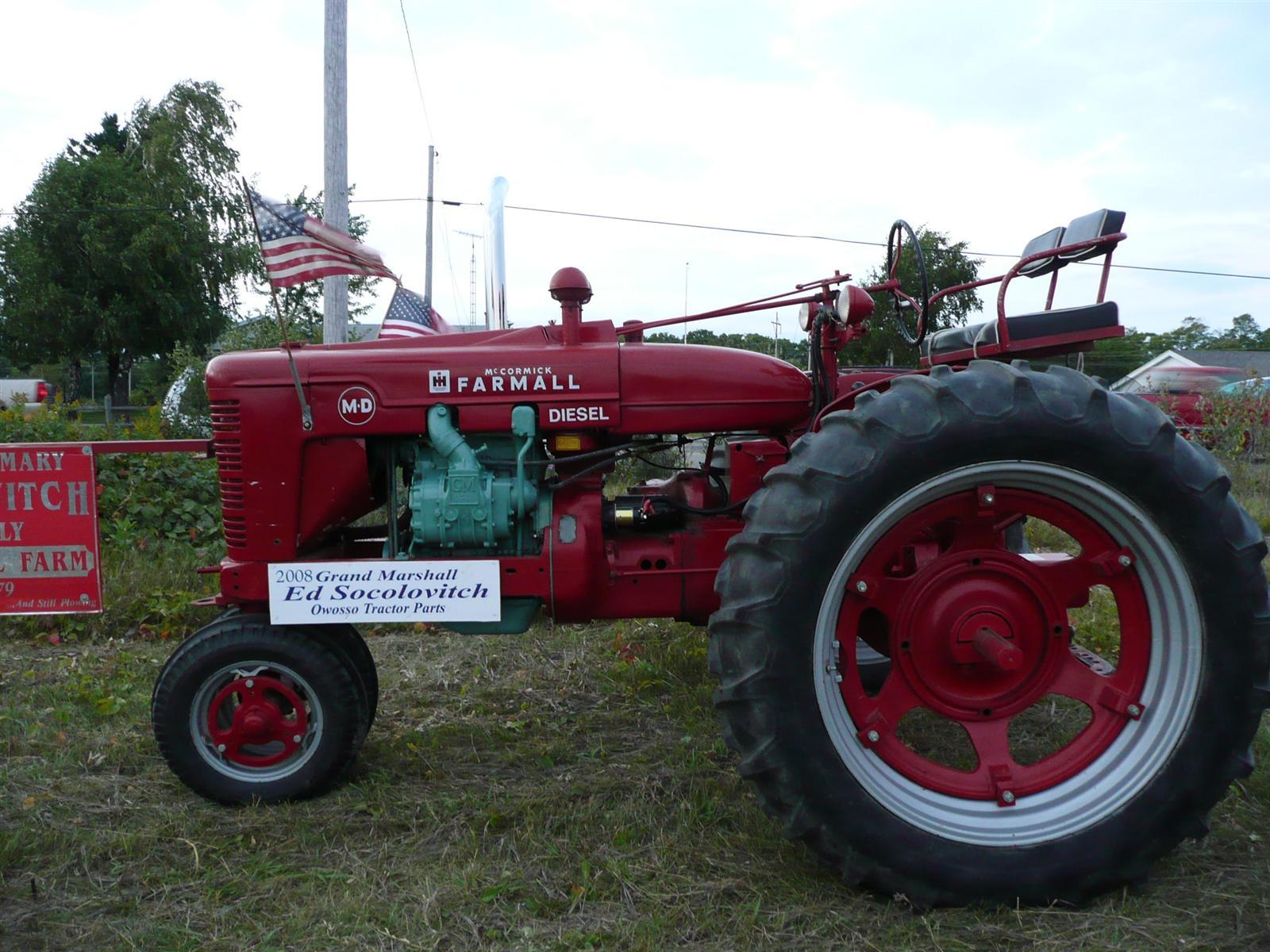 Gm 2-71 diesel in a farmall H - Coffee Shop - Red Power